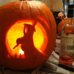 Halloween 2011 - Image of my pumpkin