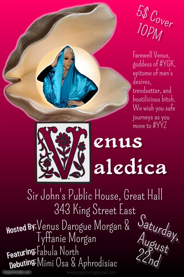 Venus Valedica poster