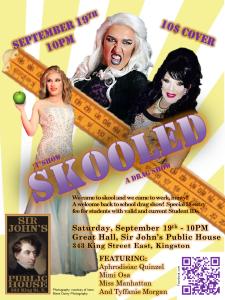 TShow - Skooled a drag show