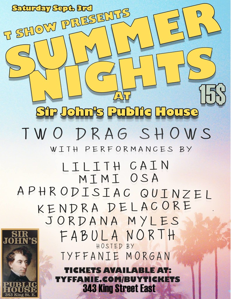 Poster for Summer Nights
