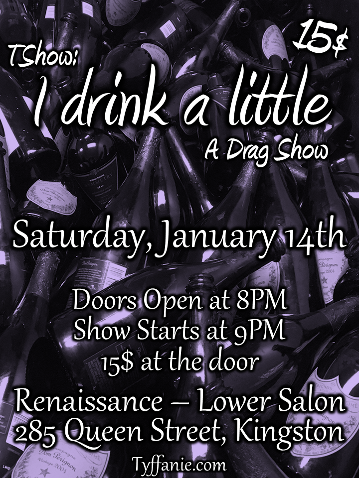 tshow-i-drink-a-little-poster